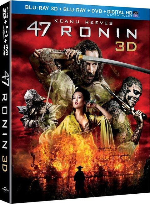 Win a 47 Ronin 3D Blu-Ray Combo Pack - PM Sweepstakes