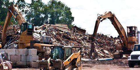 Construction equipment, Machine, Demolition, Bulldozer, Composite material, Building material, Concrete, Construction, Grille, Violin,
