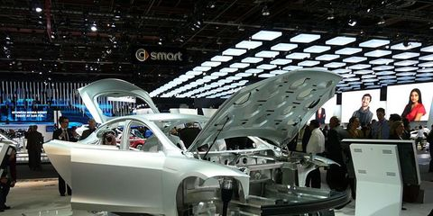 Work on the Model S sedan continues at Tesla. The all-electric sedan will offer a 160, 230, or 300-mile range battery pack, seating for seven, ...