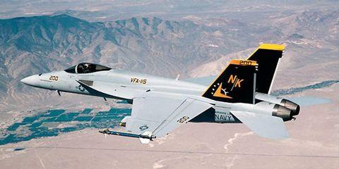 FA-18 Super Hornets