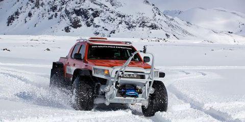 top gear toyota tacoma north pole