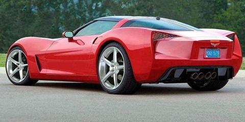 LATE 2012: Corvette C7