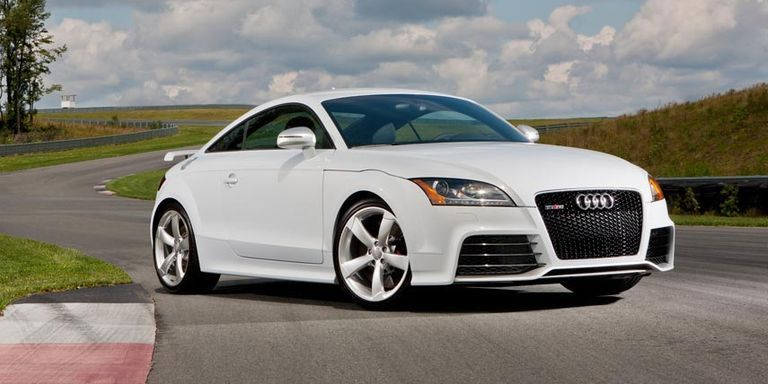 Audi TT RS Test Drive - Audit car