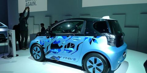 Toyota FT EViii