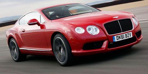 Vehicle, Automotive design, Land vehicle, Bentley, Car, Grille, Hood, Rim, Automotive mirror, Fender,