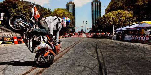 stunt bike riders are making motorcycles fly