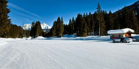 Winter, Freezing, Snow, Terrain, Evergreen, Hill station, Glacial landform, Ice, Ice cap, Larch,