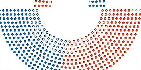Blue, Colorfulness, White, Line, Azure, Slope, Orange, Circle, Graphics,