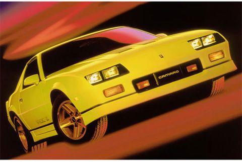 1985-1992 Chevrolet Camaro IROC-Z