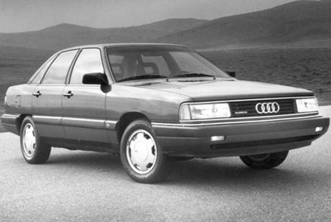1984-1991 Audi 5000 and 100