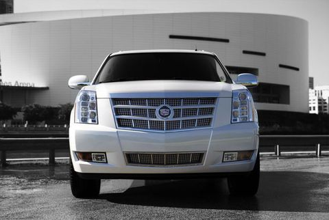 Cadillac Escalade With Platinum HID Headlights
