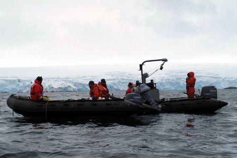 Boating in Antarctica - Zodiac Safety