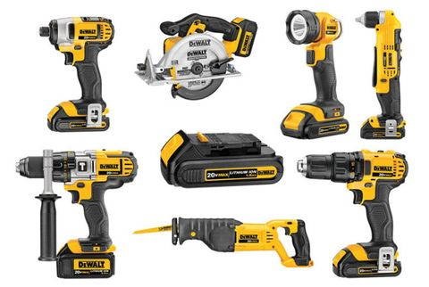 DeWalt\'s 20V Cordless Power Tools and Re-envisioned Hand Tools