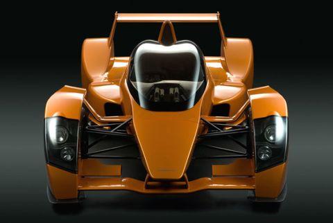Automotive design, Mode of transport, Yellow, Automotive exterior, Orange, Fender, Automotive lighting, Auto part, Concept car, Brand,