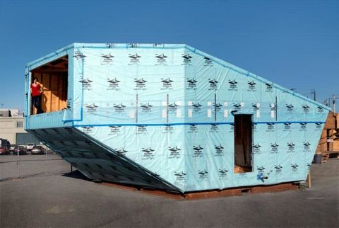 Electric blue, Gas, Engineering, Shipping container, Plastic,