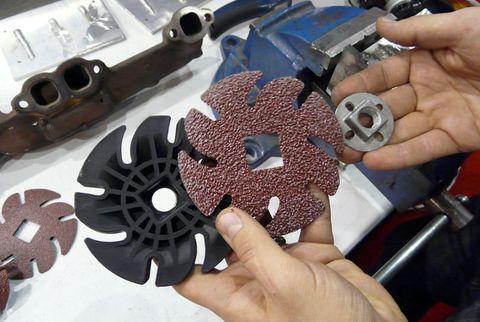Jooltool See-Through Abrasive Wheels