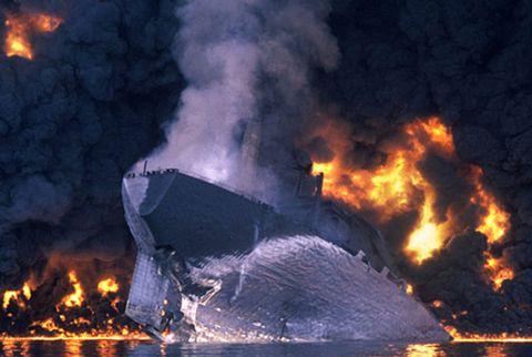 mt haven tanker 1991
