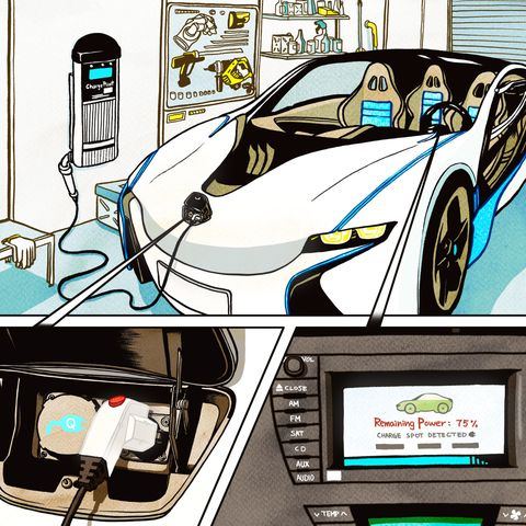 An Electric Car Test Drive In 2020