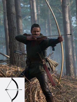 robin hood bow and arrow
