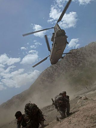 Soldier, Helicopter, Army, Military uniform, People, Military person, Rotorcraft, Aircraft, Military organization, Military helicopter,