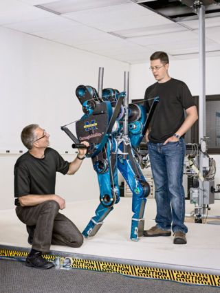 Teaching Robots  to Walk