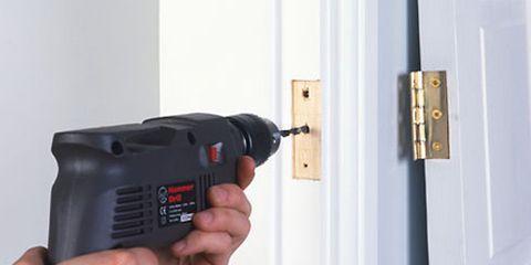 door repair 101 how to fix a squeaky door hinge gaps and more. Black Bedroom Furniture Sets. Home Design Ideas