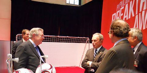Mayor Bloomberg at 2010 Popular Mechanics Breakthrough Awards
