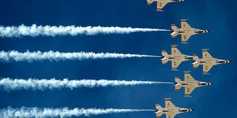 Fewer Flying Hours (Goodbye, Thunderbirds)