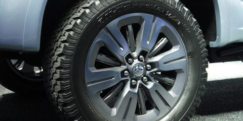Ford Atlas Concept's Active Wheel Shutters