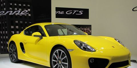 Mean: 2013 Porsche Cayman S