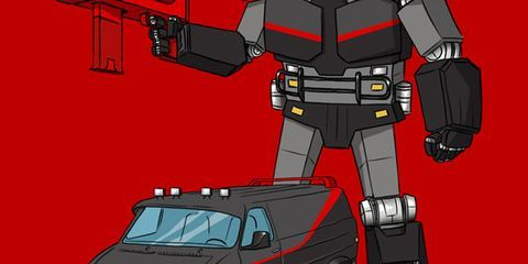 What If These TV and Movie Cars Were Transformers?