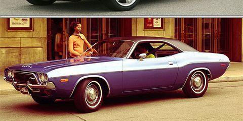 New Dodge Challenger Srt8 Vs Classic Guzzling Hemi Models Chicago