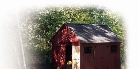 A Colonial Style Storage Shed That Anyone Can Build.