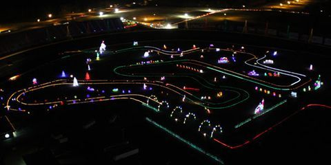 all i want for christmas is to drive around a superspeedway without knocking over the displays