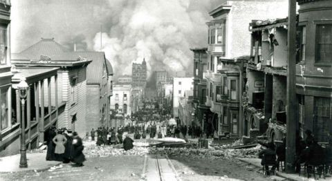 at the turn of the last century san francisco