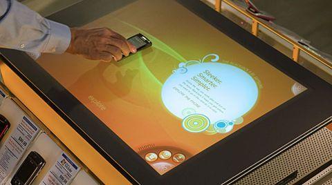Microsoft Surface at ATT store