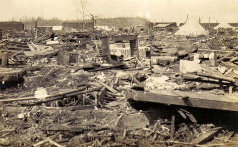 tristate tornado damage
