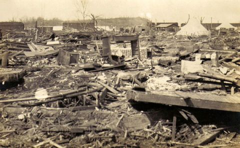 Tri state tornado missouri illinois indiana march 1925 for Southern illinois home builders