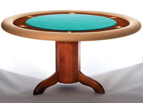 how to build a poker table simple diy woodworking project rh popularmechanics com poker table plans octagon poker table plans raised rail