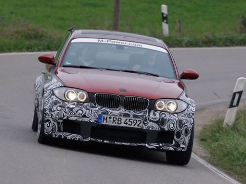 2012 BMW 1-Series M Coupe features a widened 1-Series body dropped over a shortened M3 chassis.