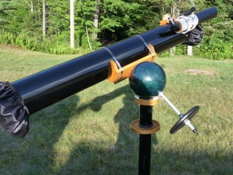 Bowling Ball Mount