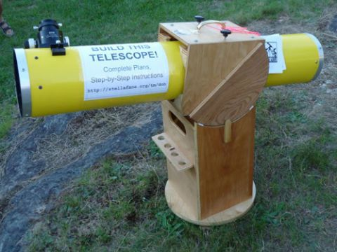 Amateur Astronomy And Diy Telescopes Stellafane Diy Telescope Builds
