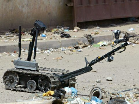 talon explosives ordinance disposal robot
