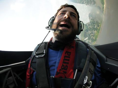 Audio equipment, Facial hair, Pilot, Beard, Cool, Headset, Audio accessory, Moustache, Headphones, Helicopter pilot,
