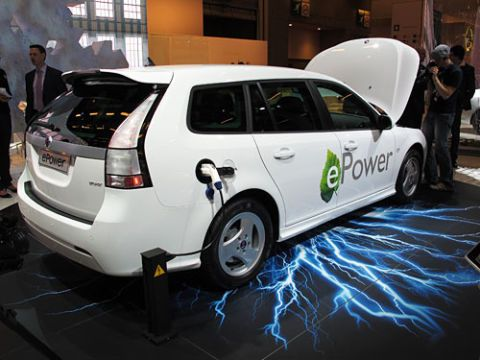 e power car shot