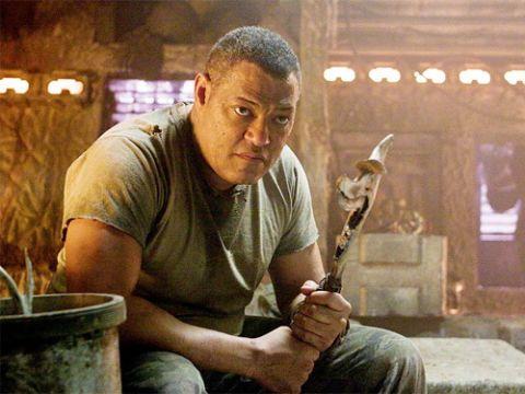 Laurence Fishburne stars as Noland, a veteran of the human-Predator wars.