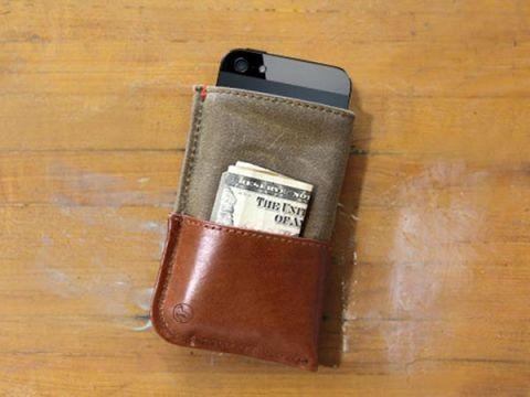 Dodocase iPhone wallet, $50