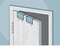 The bedroom door sticks every time it\u0027s opened or closed but the idea of repeatedly hanging and planing or sanding what you think are the trouble spots ...  sc 1 st  Popular Mechanics & Door Repair 101: How to Fix a Squeaky Door Hinge Gaps and More
