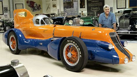 jay leno duesy set bonneville records in 1930s that stand