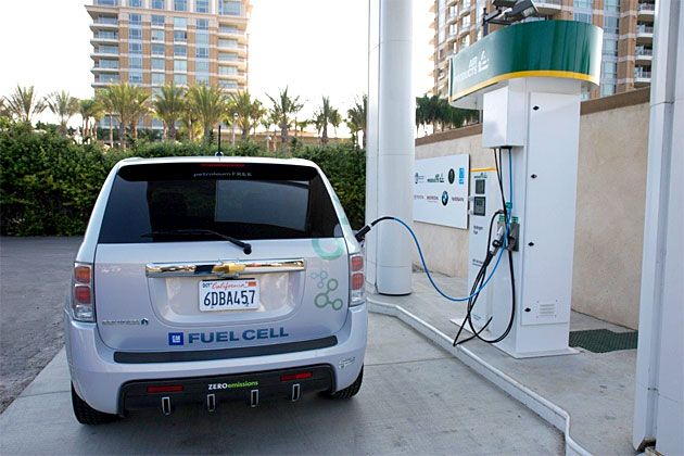 Gm Hydrogen Car Gas Stations Future Of Hydrogen Fuel For